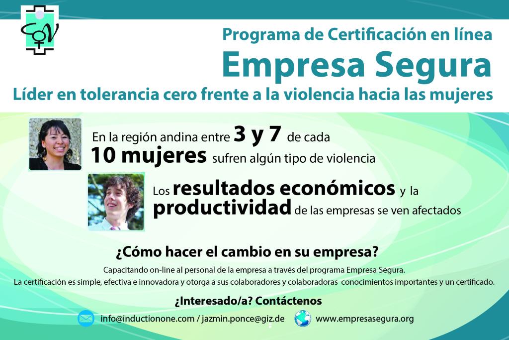 Certificación Empresa Segura