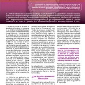 12-CIDEM feminicidio