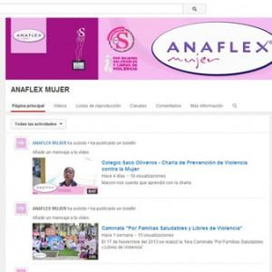 143_video Canal de Youtube de Anaflex