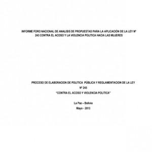 21_Informe_Foro Nacional Aplicación Ley N°243_BO_2013-page-001