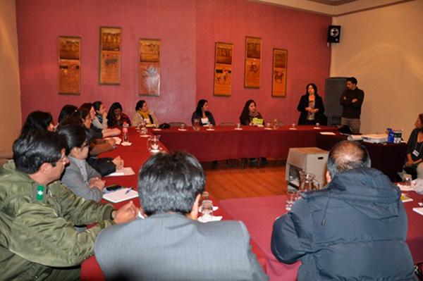Participantes del proceso de construcción del protocolo de abordaje de la violencia contra la Mujer