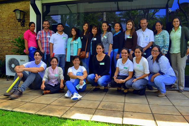 Participantes del primer taller. Foto: Fundación Paraguaya
