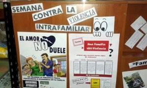 Afiches de la campaña Foto: Fundación Paraguaya