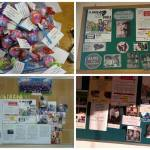 Frases de concienciación y afiches Foto: Fundación Paraguaya