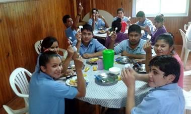 Colaboradoras y colaboradores de la Fundación Paraguaya Foto: Fundación Paraguaya