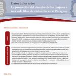 Datos útiles sobre. La protección del derecho de las mujeres a una vida libre de violencias en el Paraguay