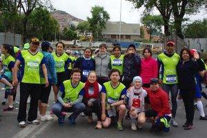 Foto de grupo equipo ComVoMujer y agencia GIZ