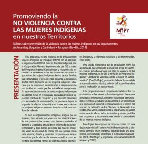 mujeres indígenas mipy