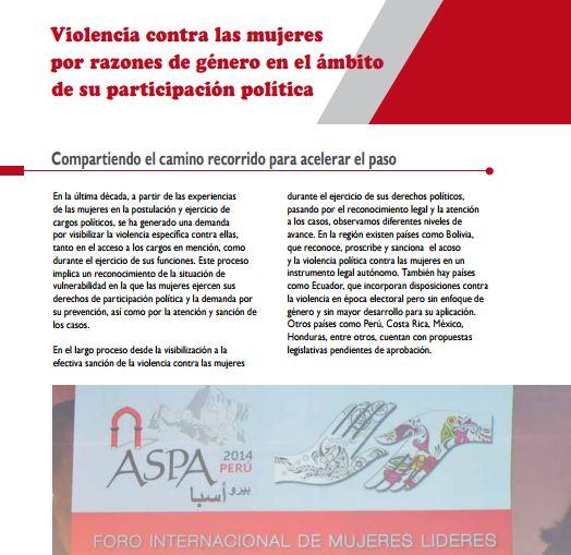 Perú Mujeres Libres De Violencia