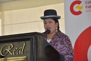 Ministra de Justicia presenta avances en la lucha contra la violencia hacia la mujer en el país.