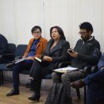 7 de septiembre , Capacitación para Capacitadores en Masculinidades  Clausura del evento  a cargo de Irma Campos Garvizu, Coordinadora Nacional Bolivia, Programa Regional ComVoMujer y Ana Crespo, Gerenta de Portafolio de la Agencia GIZ en Bolivia