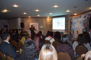14 de septiembre de 2017  Presentación de Modelo de Gestión y Resultados a medio término en el Hotel Europa de la ciudad de La Paz a empresas.