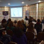 Director General Ejecutivo  INE, Lic. Luis Pereira Stambuk, dando a conocer  la metodología de trabajo y los resultados de la Encuesta.