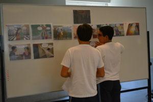 Estudiantes del cuarto grado de secundaria del Colegio Antares cuentan la historia de amor tóxica entre Camila y Diego.