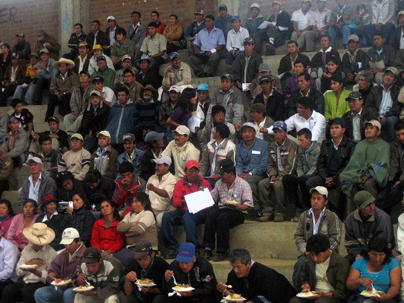 Rondas Campesinas enfrentando la violencia contra las mujeres - 2011-2012