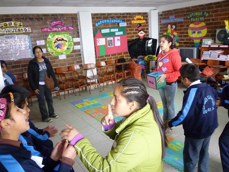 Ruta Participativa de salto en salto a la violencia ponemos alto -2012