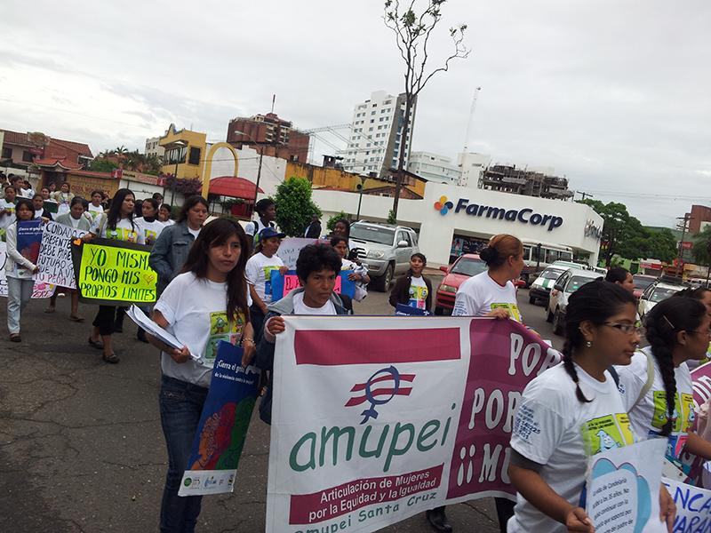 Marchas en contra del feminicidio